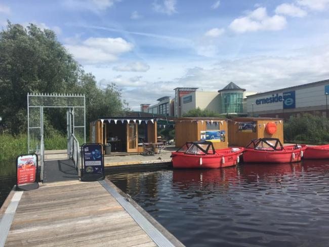 Erne Boat Hire where the nine engines were stolen. Credit: Facebook