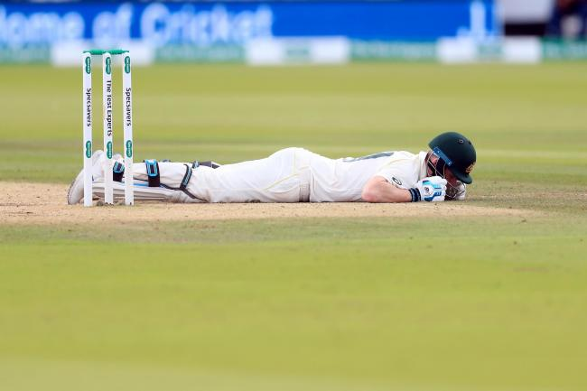 Steve Smith was hit by Jofra Archer at Lord's