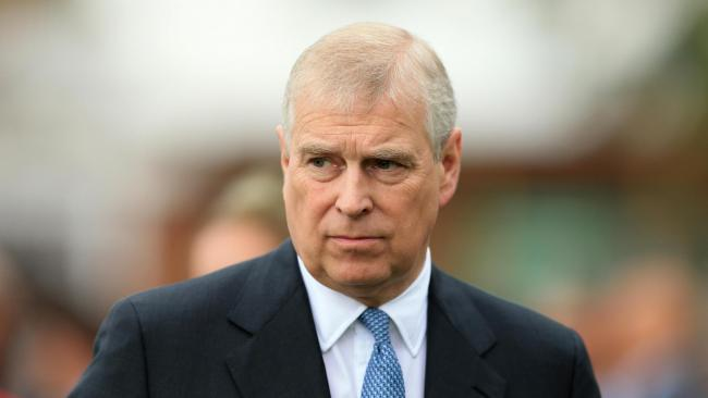 Prince Andrew.