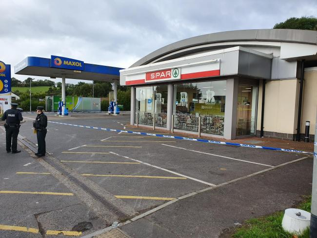Attempted ATM theft in Fermanagh