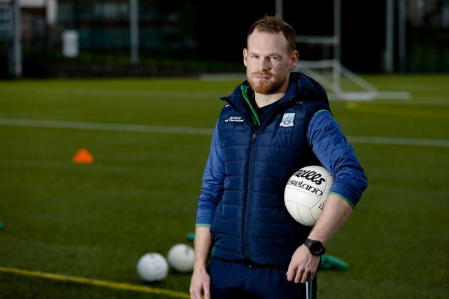 Fermanagh ladies manager, Johnny Garrity.