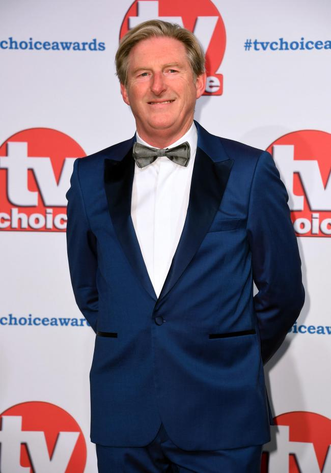 Adrian Dunbar attending the TV Choice Awards held at the Hilton Hotel, Park Lane, London. PA Photo. Picture date: Monday September 9, 2019. See PA story SHOWBIZ TVChoice. Photo credit should read: Matt Crossick/PA Wire
