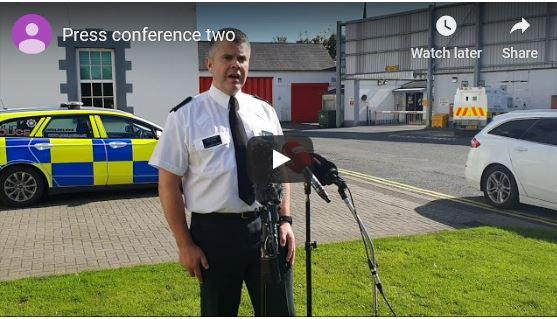 WATCH FULL VIDEO BELOW:  Police reveal 'life changing' injuries suffered by QIH Director