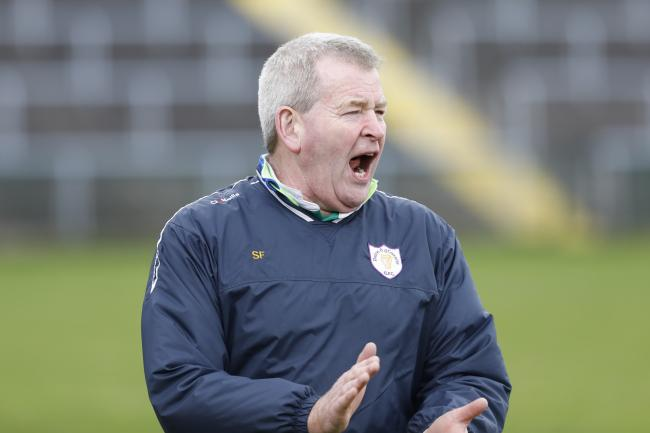 Sean Flanagan, Derrygonnelly manager.
