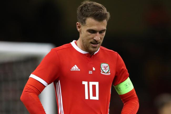 Aaron Ramsey will miss the Slovakia game