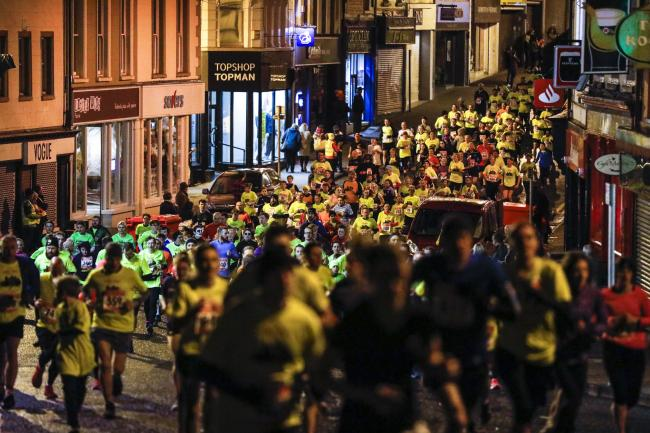 Runners make their way through the streets of Enniskillen during last year's Spooktacular.