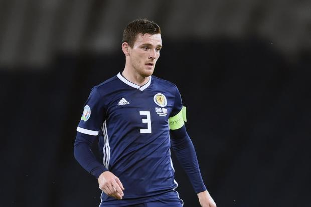 Andy Robertson is out of the Scotland squad