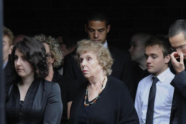 Clive Hornby funeral