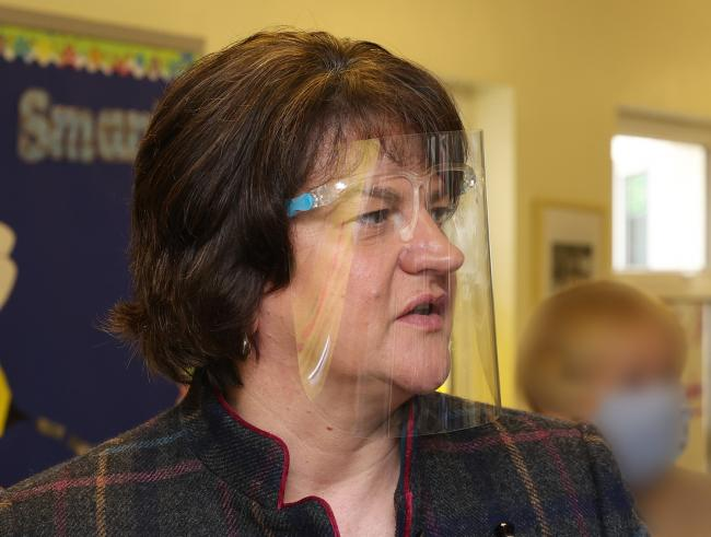 Arlene Foster. Photo: John McVitty.