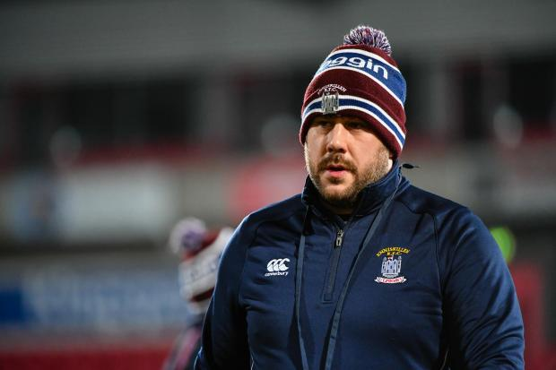 Enniskillen coach Stephen Welsh.  Picture: Ronan McGrade