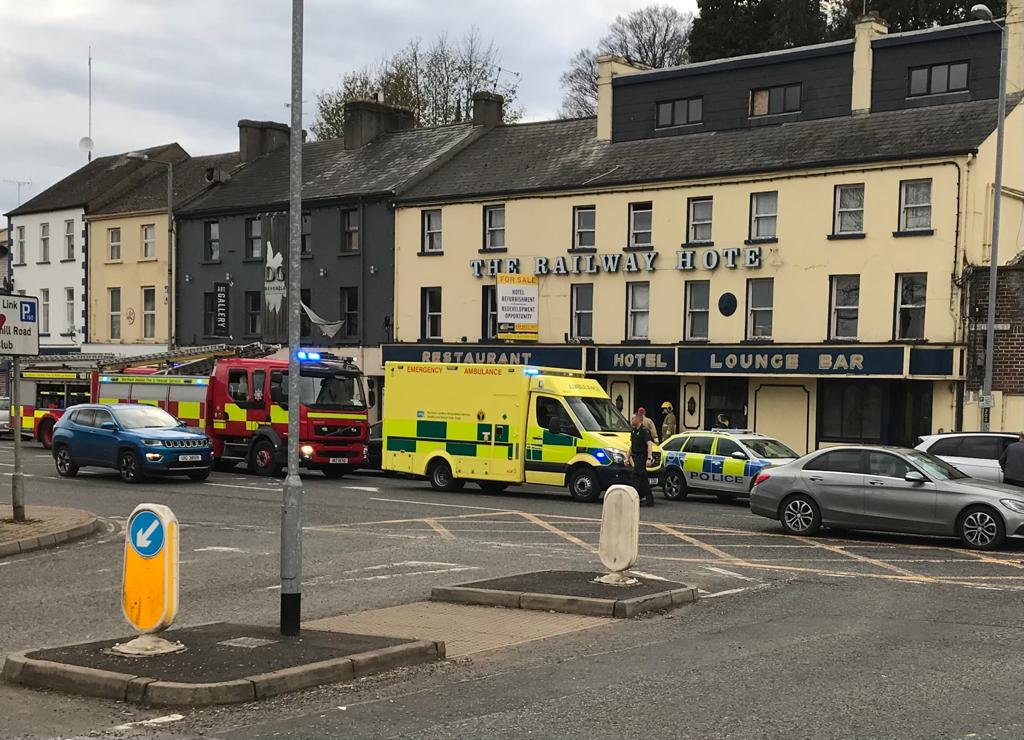 Emergency services attend 'deliberate' fire in Fermanagh