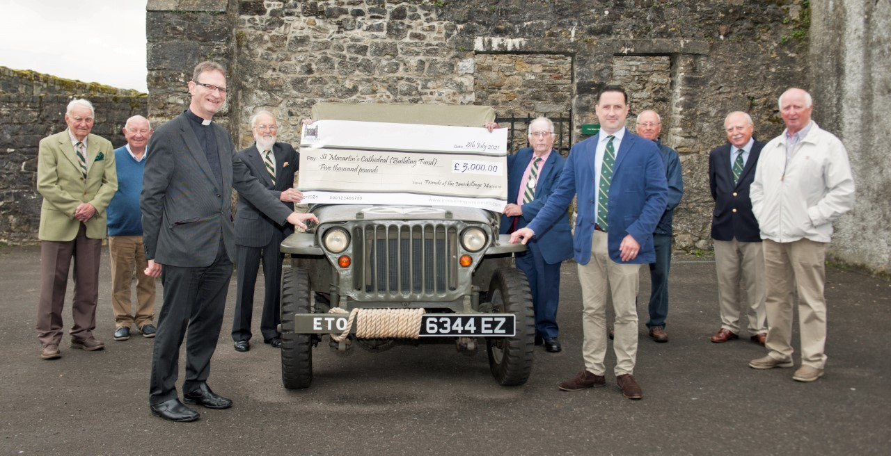 Enniskillen cathedral works get a £5,000 boost