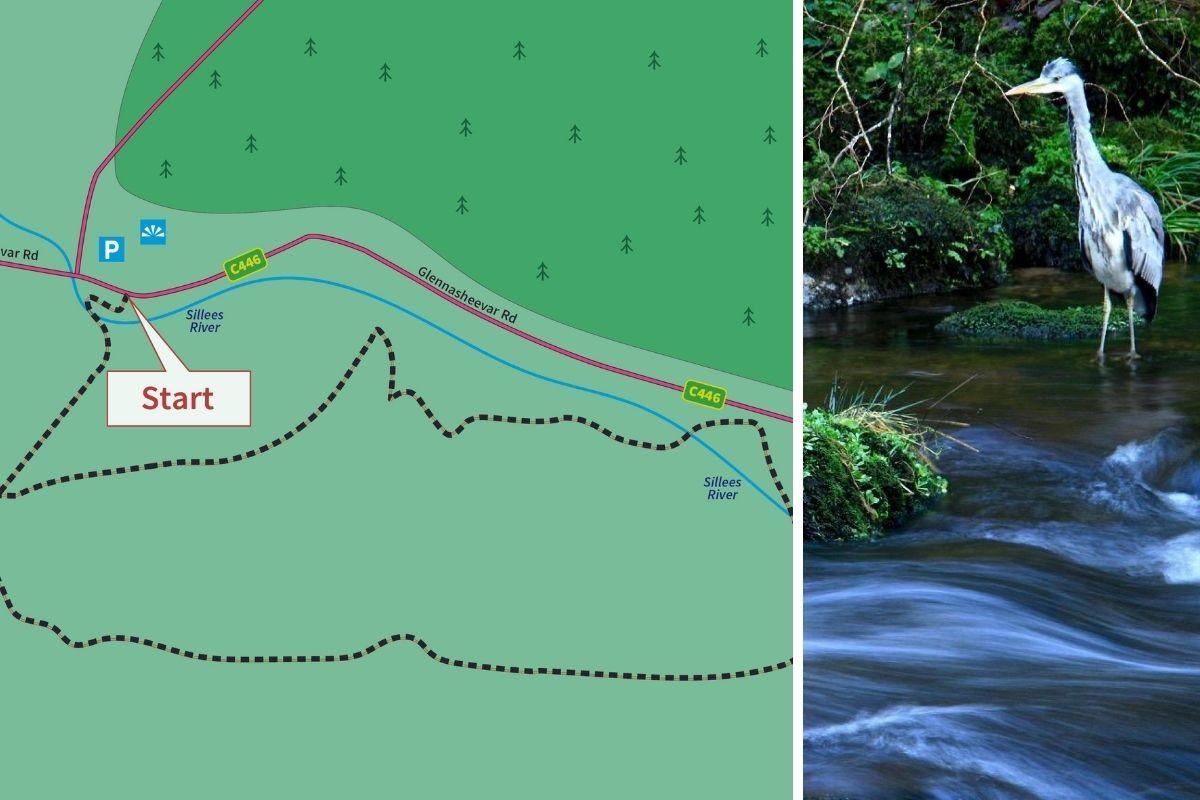 Fermanagh walks/hikes: Correl Glen