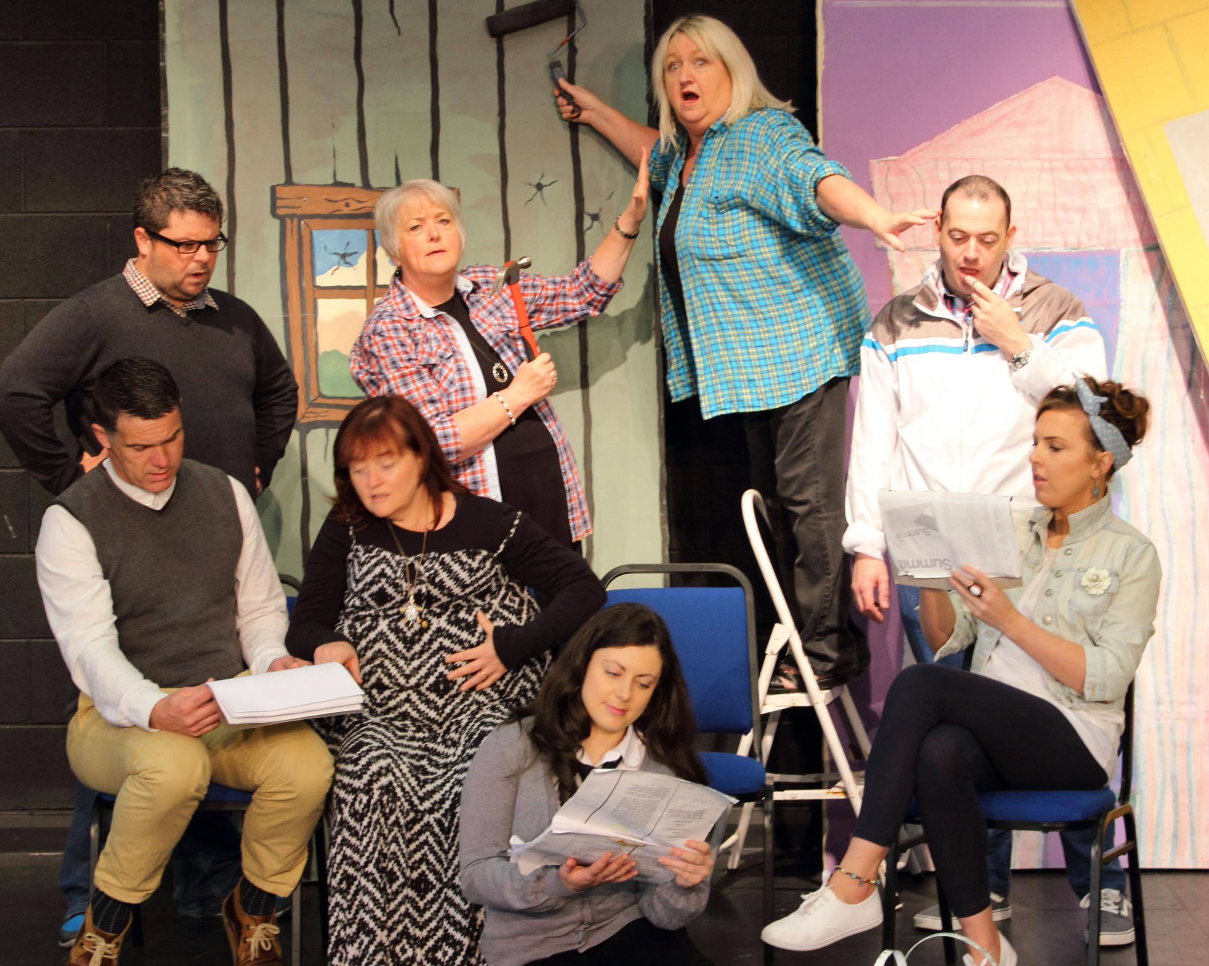 Borderline Players come to the Ardhowen Theatre on Thursday, November 19 and Friday, November 20 with the Rick Abbott farce, 'Play On'.