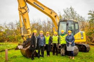 First sod is cut for sensory garden at Killadeas centre