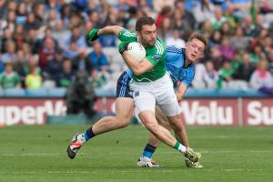 Ryan McCluskey returned to the Fermanagh jersey on Sunday following a nine month lay off with injury