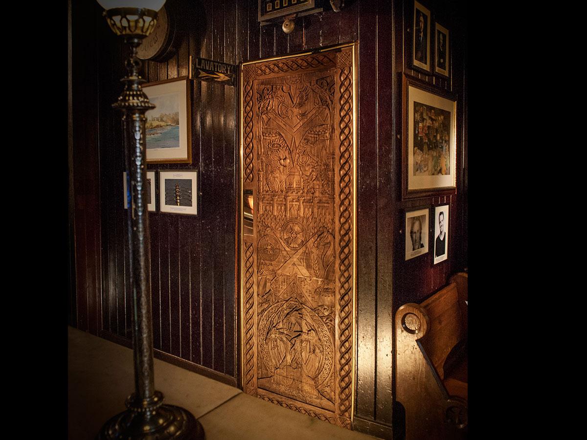 Game of Thrones door unveiled in Enniskillen & Game of Thrones door unveiled in Enniskillen | Impartial Reporter