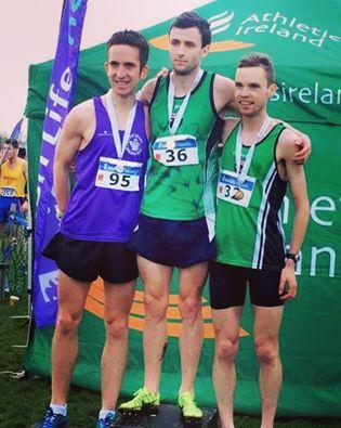 Conan McCaughey (right) with his bronze medal at the All Ireland Novice Championships
