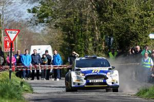 Alastair Fisher Irish Tarmac Championship hopes ended in disappointment