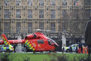 Elliott in Westminster 'lock down' as London comes under attack