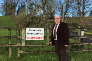 'Incompetence' blamed for delay in Devenish ferry service resolution