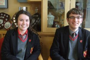 Student Voices Q&A: Kayleigh Herron and Eoin Barrett, St. Mary's, Brollagh