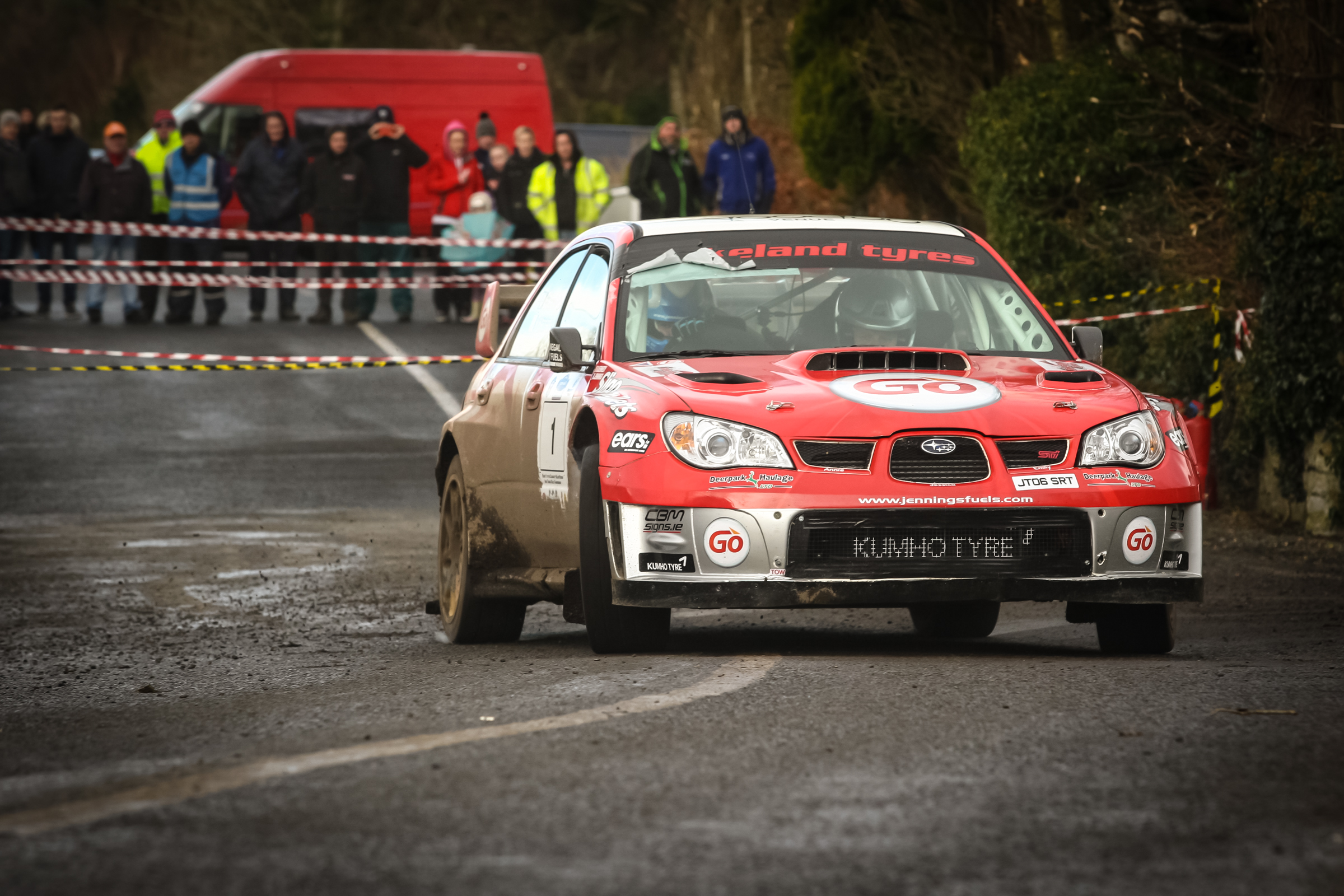 Garry Jennings will be hoping for a third victory on the Donegal International Rally.