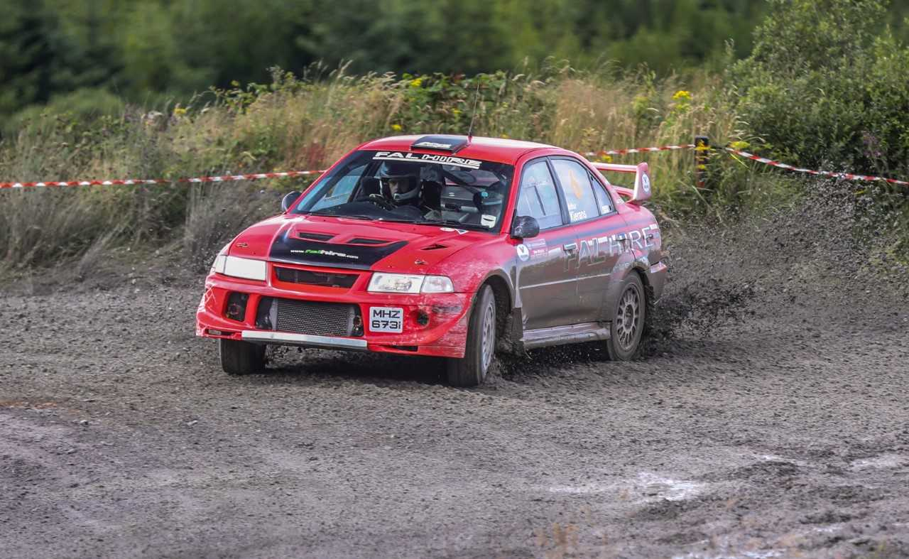 Jonny Leonard secured second overall and first in class at the Jim Walsh Cork Forestry Rally last weekend.