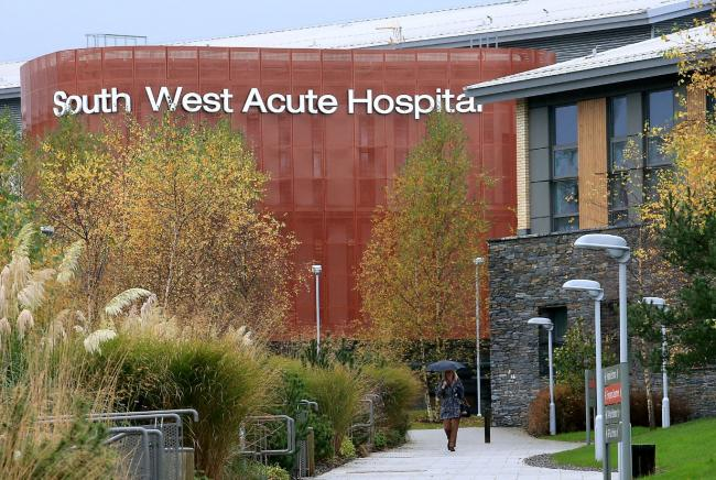 Nine Covid-19 inpatients in South West Acute Hospital
