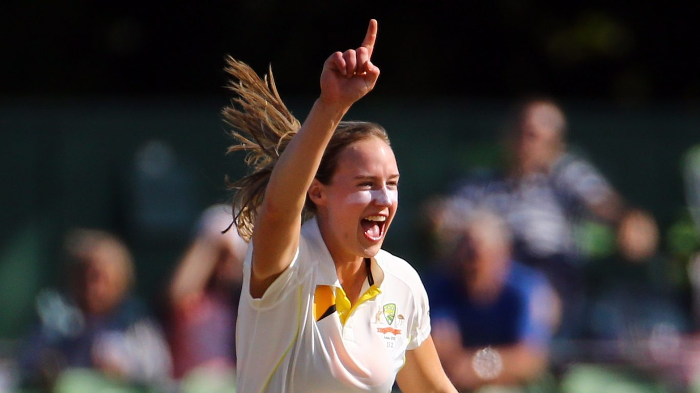Ellyse Perry scored 213 not out as Australia took command of the Ashes Test