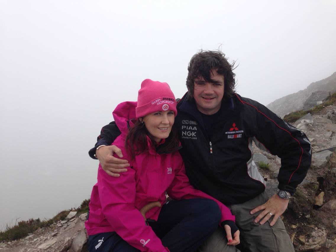 Kerry and Garry Jennings.