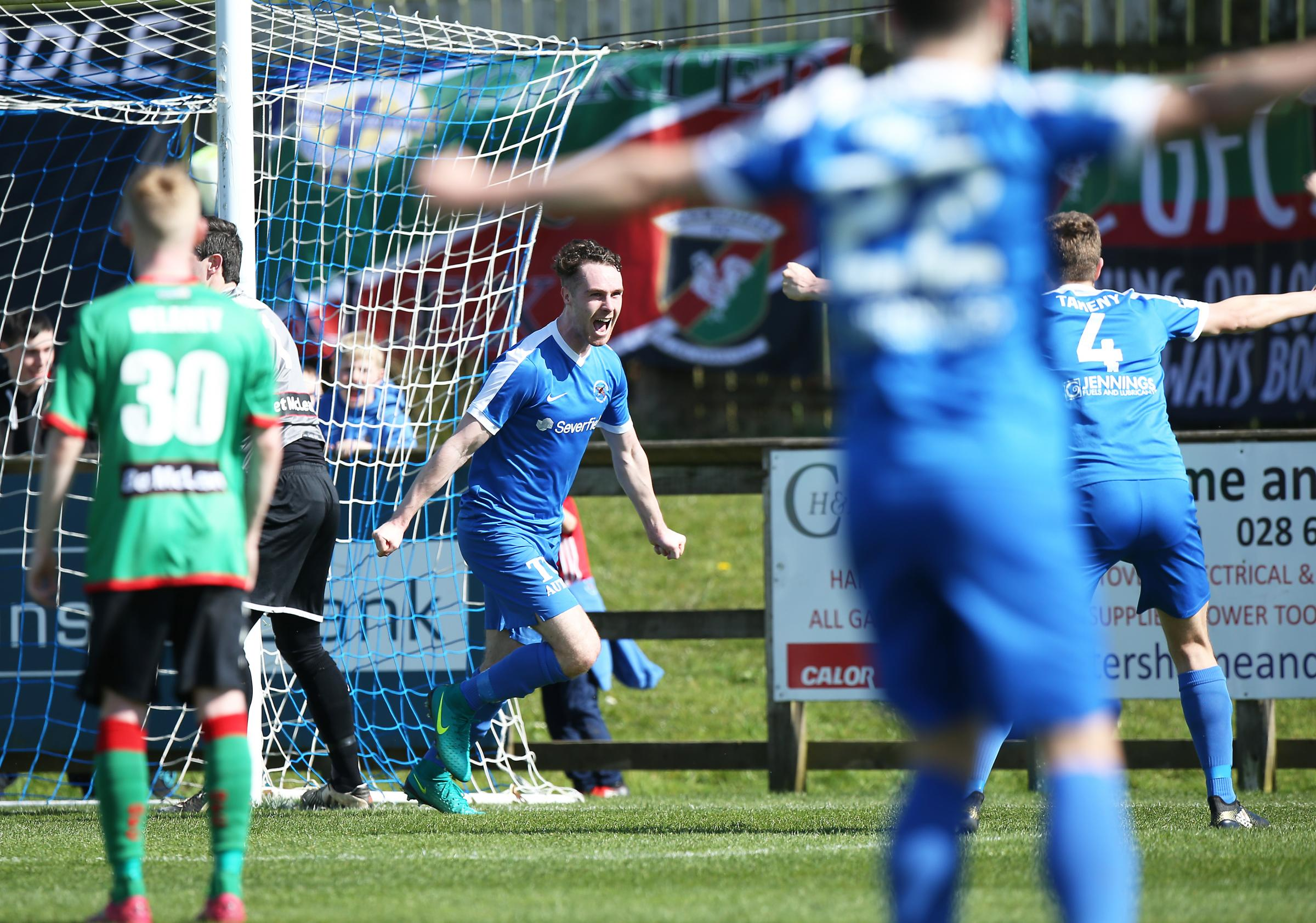Colm McLaughlin is hoping he and Ballinamallard can start to show the form of last year.