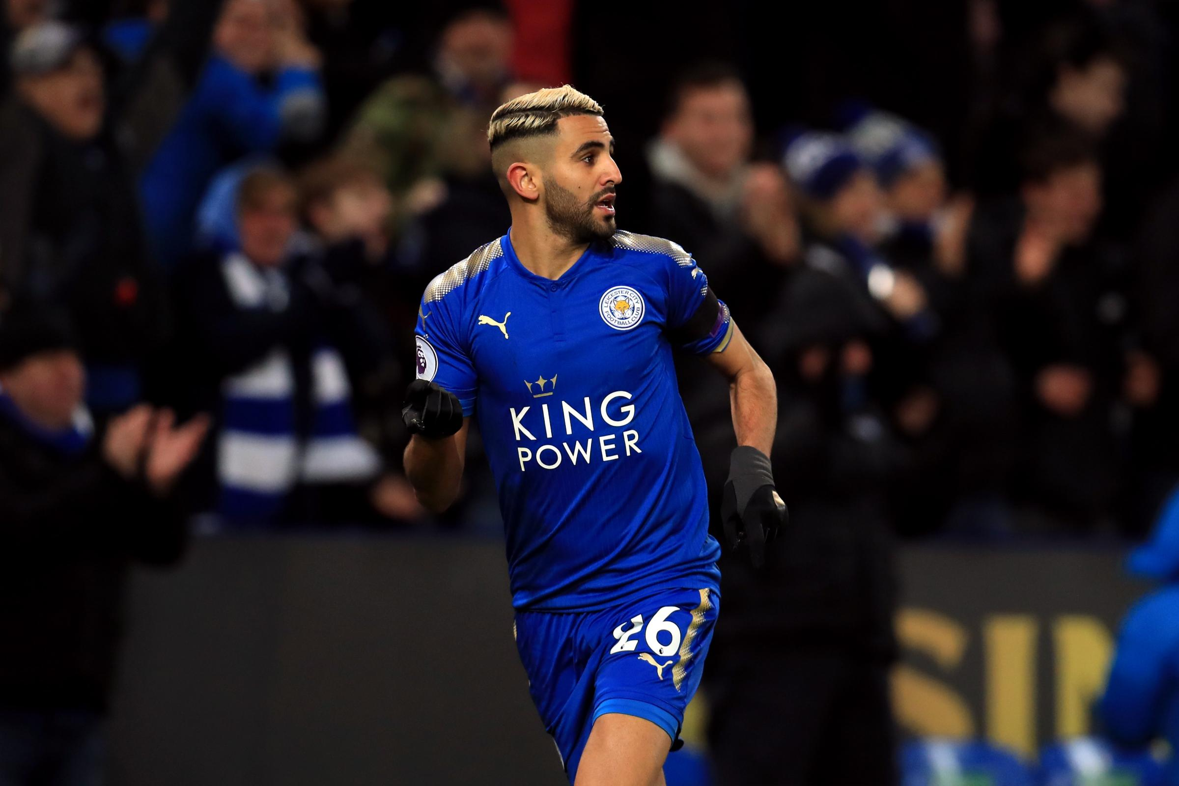 Riyad Mahrez has not featured for Leicester since they rejected an offer from Manchester City (Mike Egerton/PA)