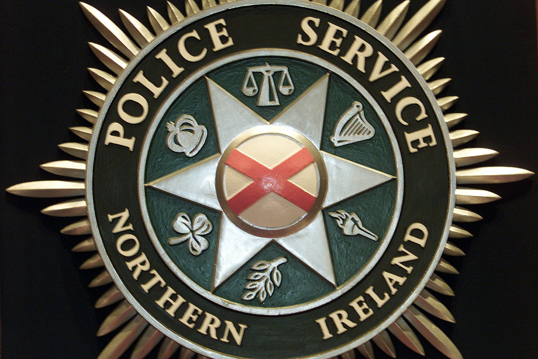 Road closed after crash near Lisnarick