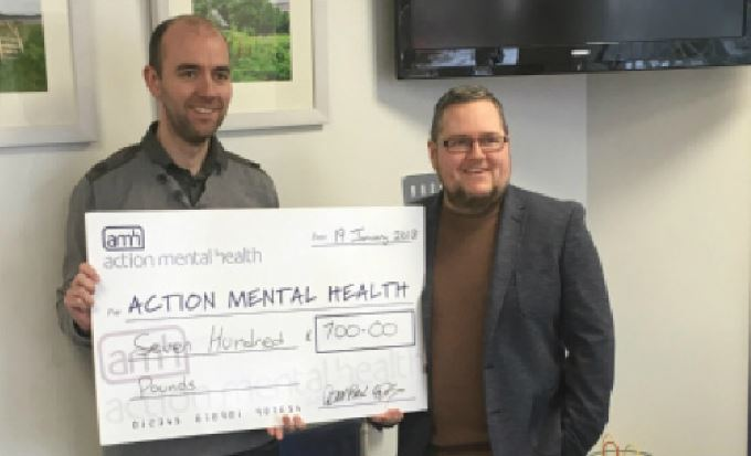 Sean Paul's skydive raises £700 for Action Mental Health
