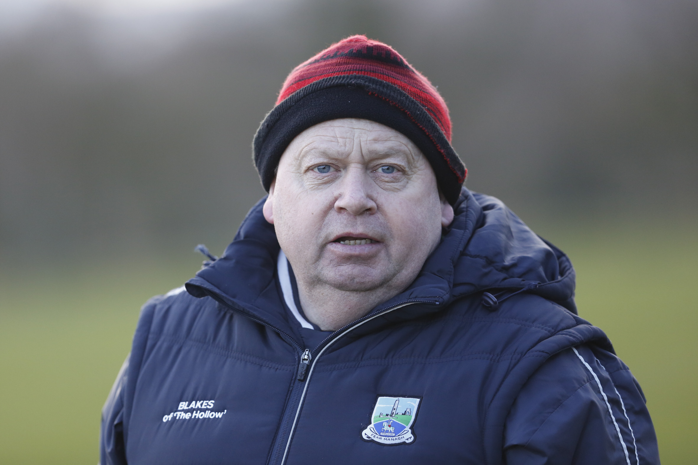Fermanagh Ladies manager Emmet Curry.