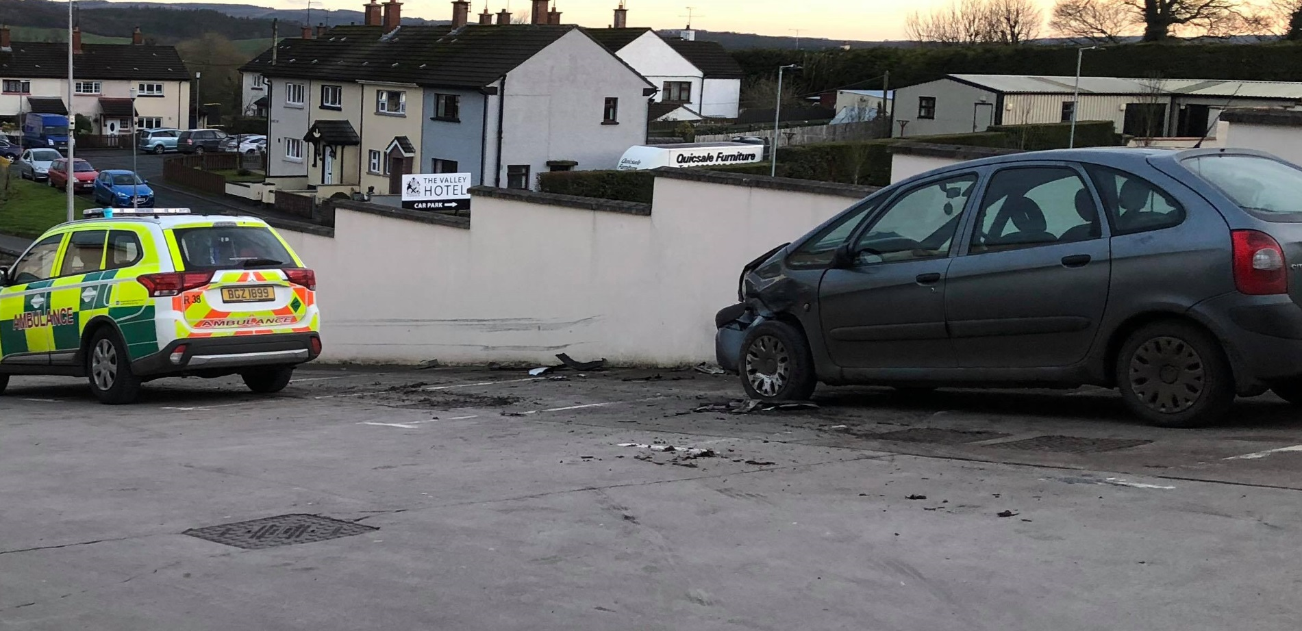 Runaway jeep and trailer 'nearly killed' DUP councillor