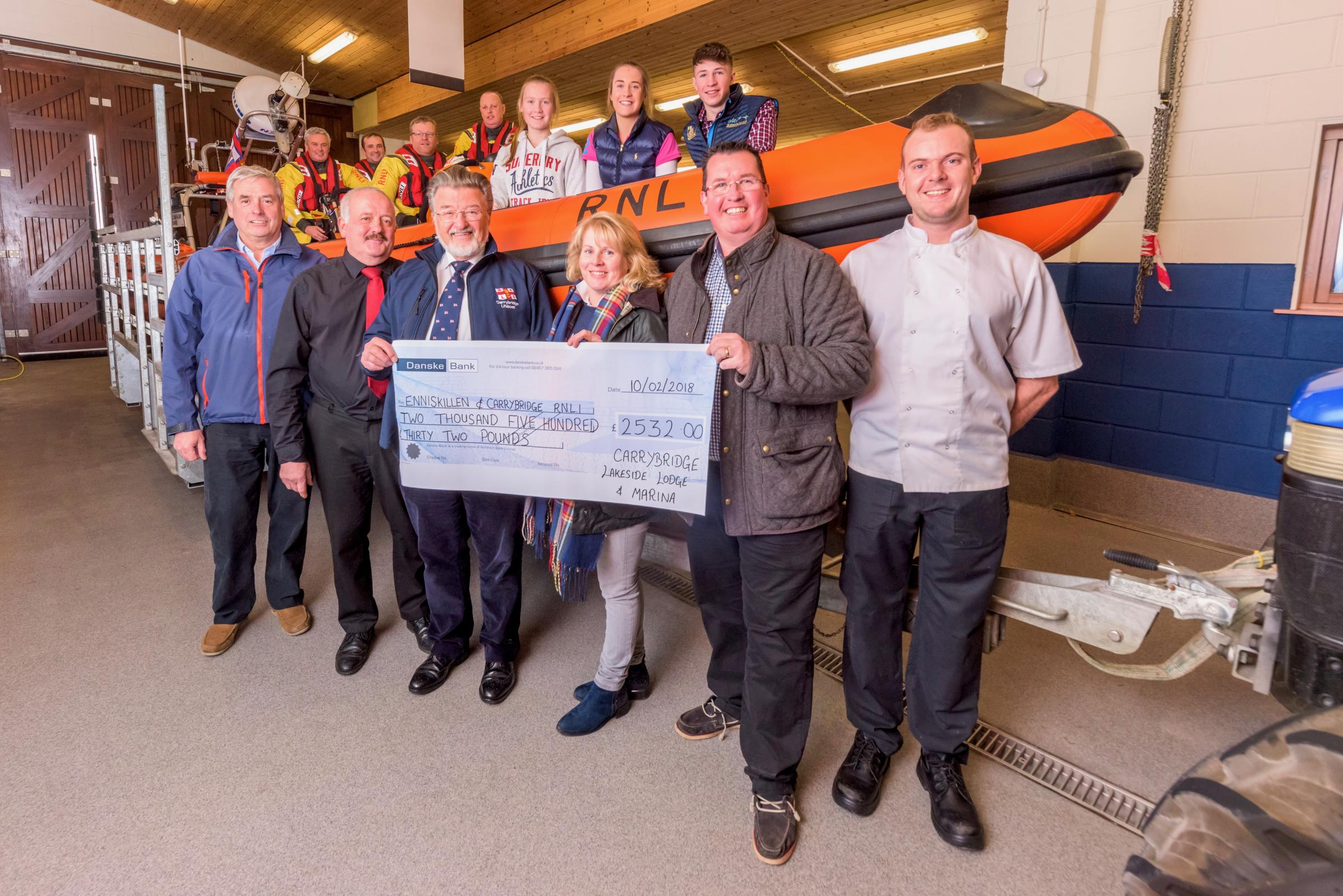 Lifeboat receives over £2,500