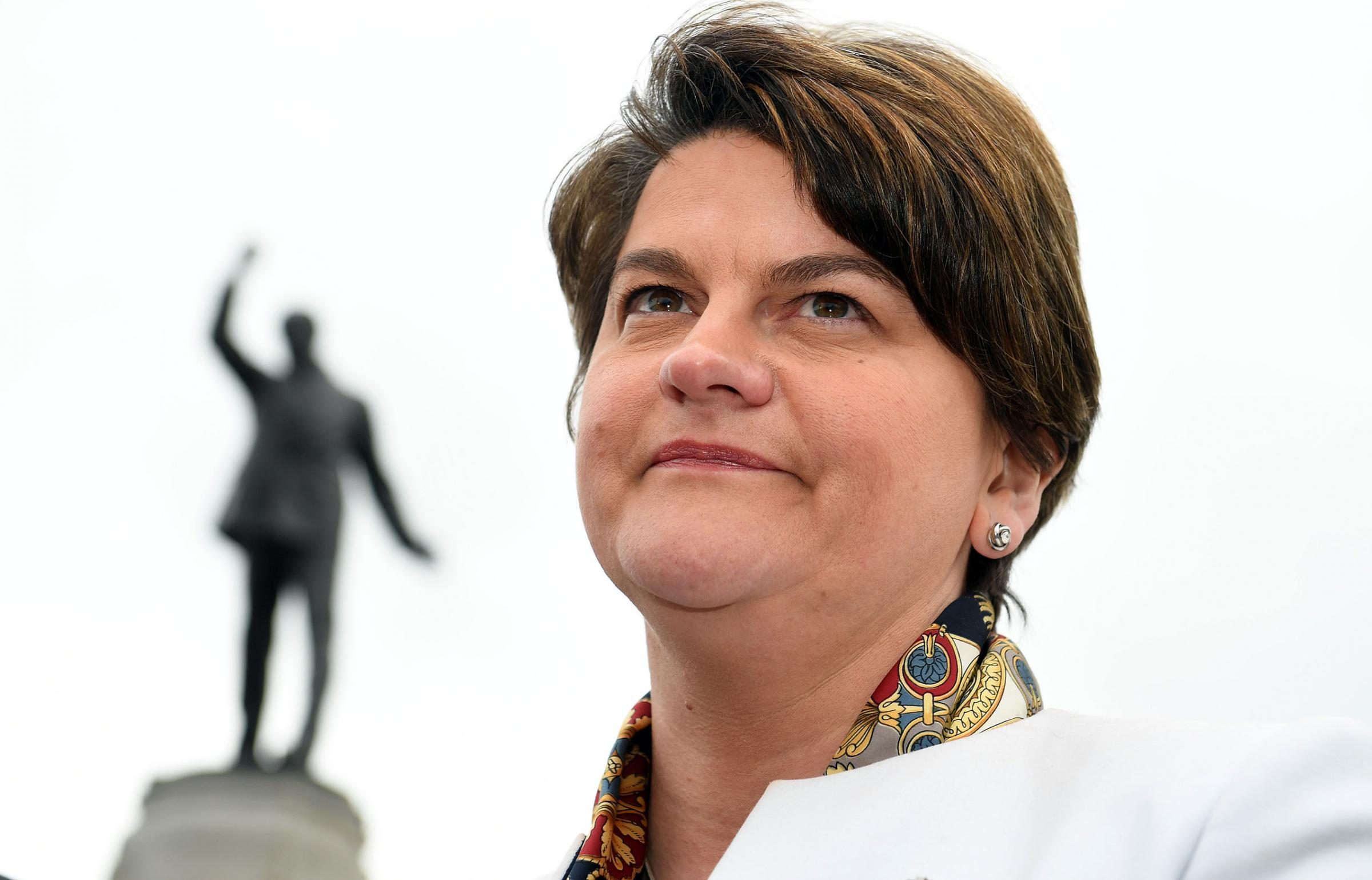 'Do Republicans want to make Northern Ireland work?' asks Arlene Foster