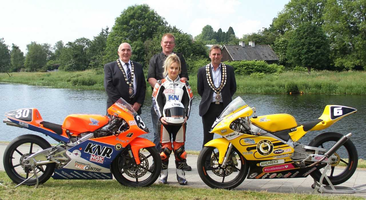 Pictured at Fermanagh and Omagh District Council's sponsorship announcement of Enniskillen Road Races