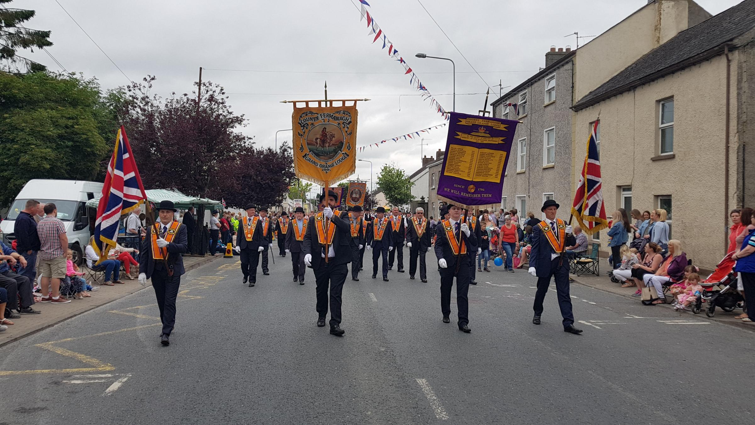 Thousands watch Twelfth celebrations in Brookeborough