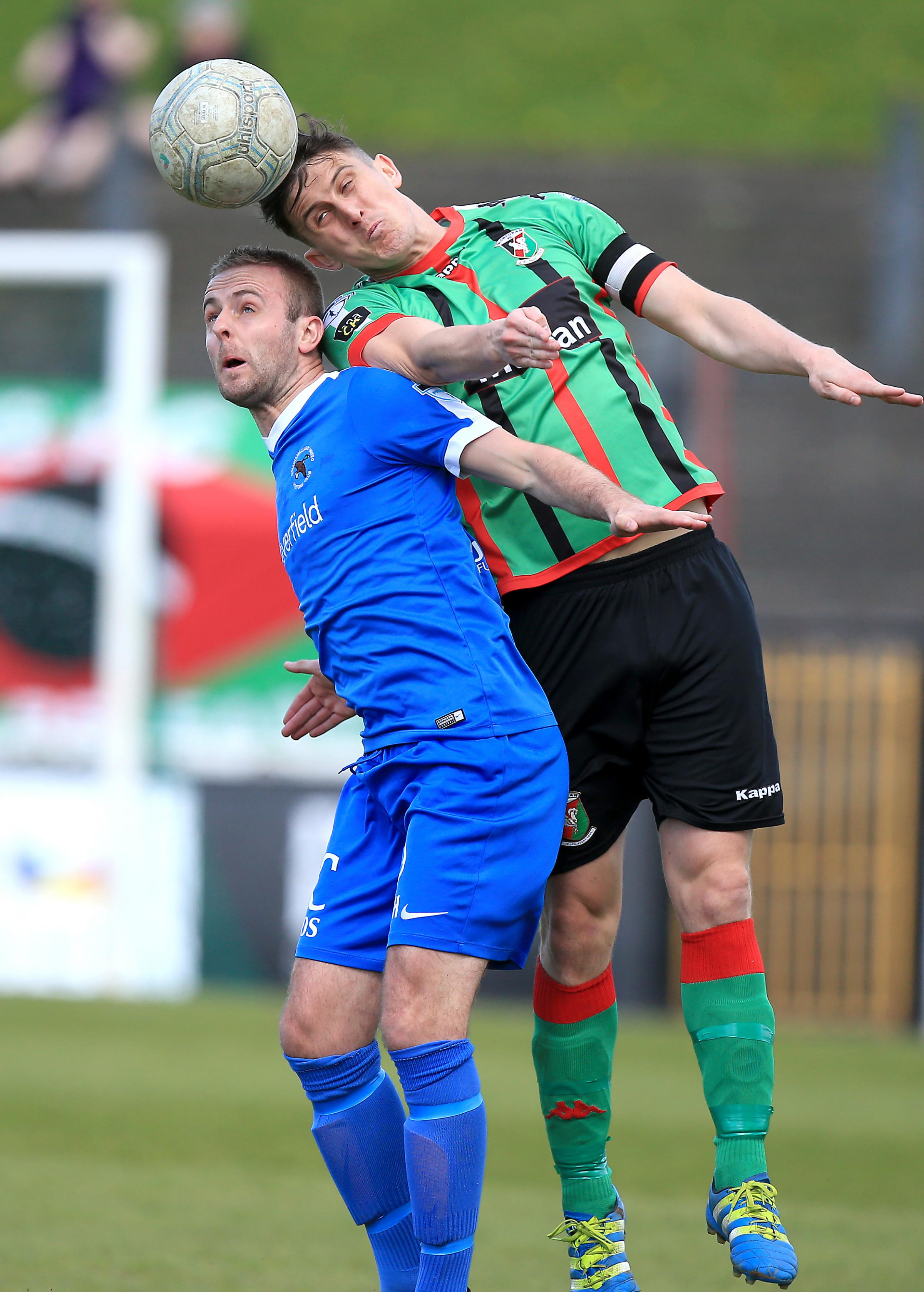 Ballinamallard captain Richard Clarke is hoping they can end their losing streak.