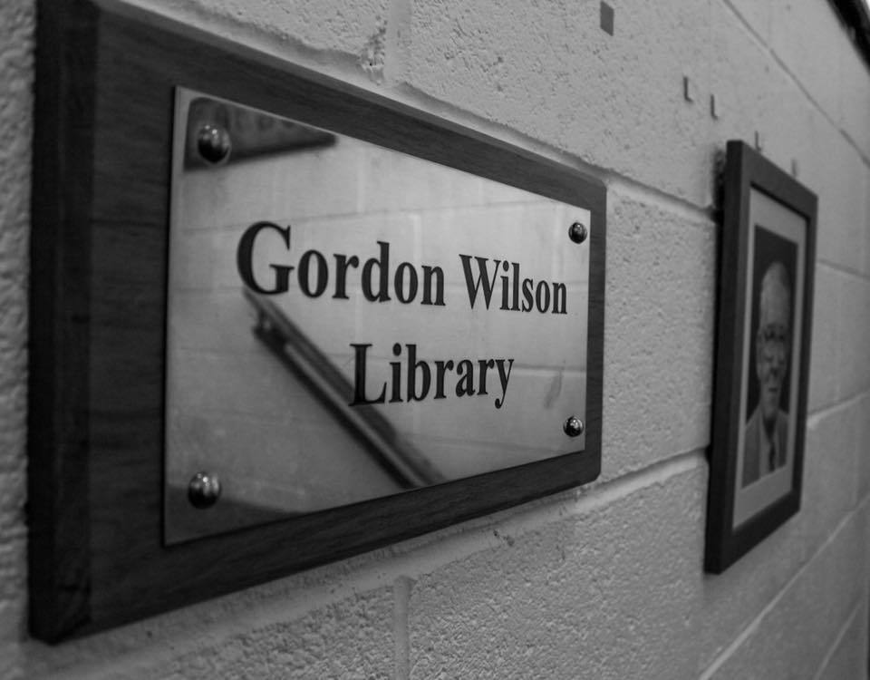 Gordon Wilson Library at Wesley College Dublin