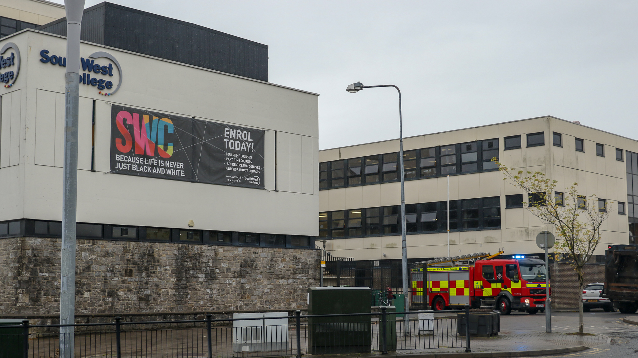 Third floor fire forces College evacuation