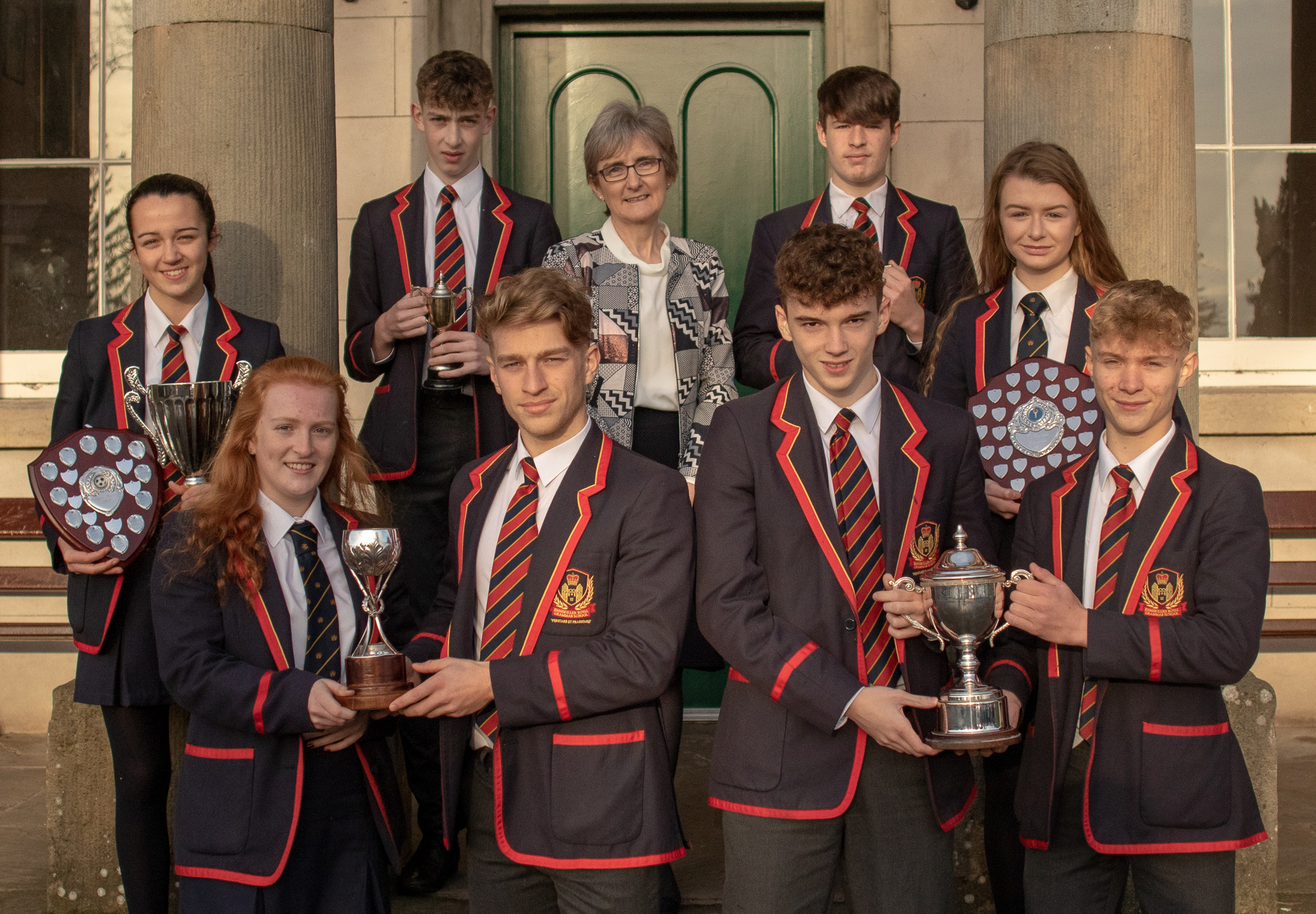 'Celebration, consolidation and commitment,' theme of Enniskillen Royal Grammar School prize giving