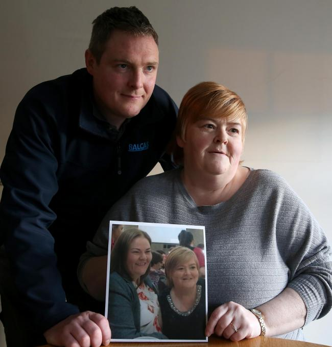 Micky Earley and Marcella Hanley looking to bring Veronica Hanley Earley from hospital in South West Acute.