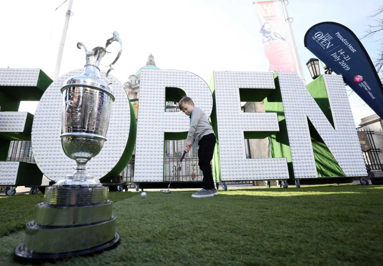 Tourism NI continues its 'Epic Journey to The 148th Open' in Enniskillen.