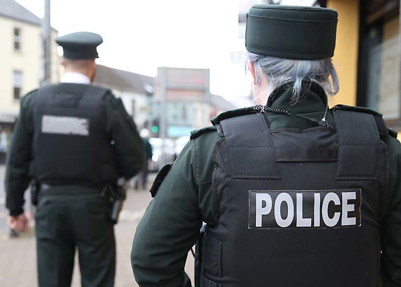 Man arrested on suspicion of offences after three PSNI officers injured in Omagh