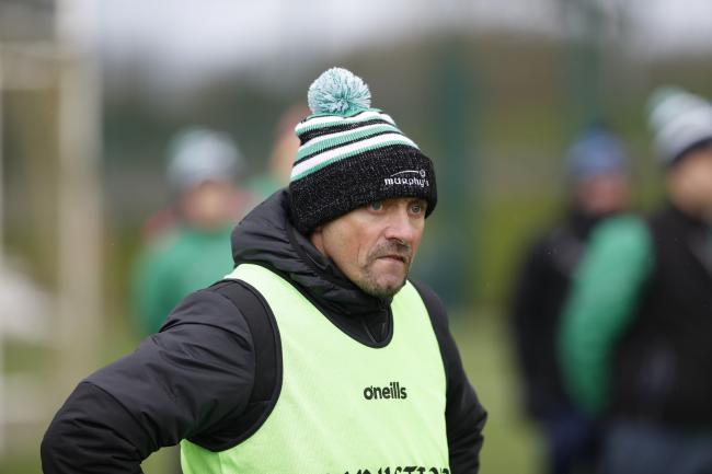 Fermanagh U17 manager, Maurice McLaughlin.