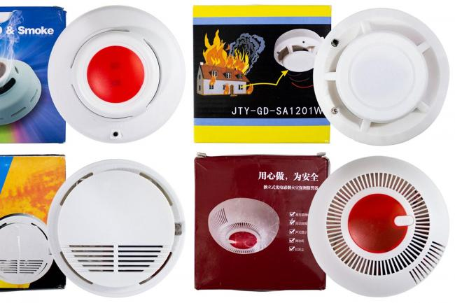 Unsafe smoke alarms